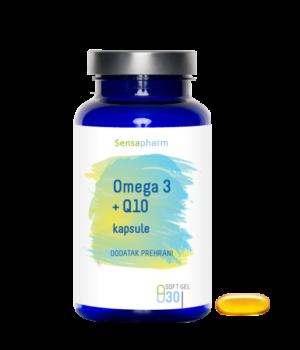 Omega 3 riblje ulje koenzim Q10